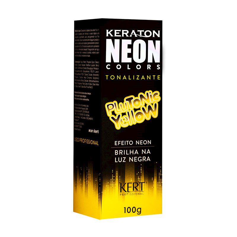 Tonalizante Neon - Keraton Neon Colors Plutonic Yellow 100g