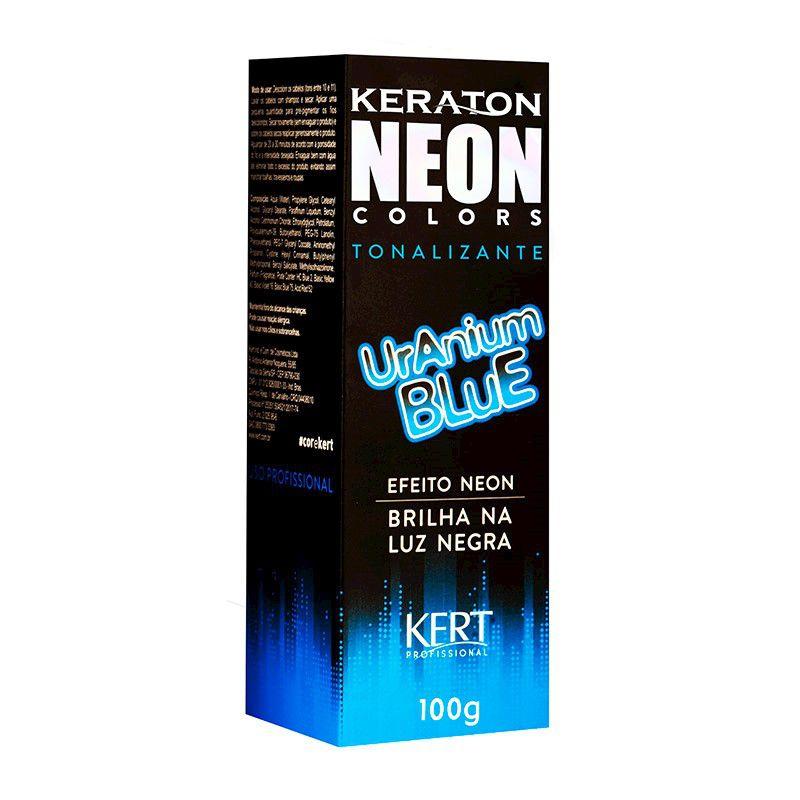Tonalizante Neon - Keraton Neon Colors - Uranium Blue 100g