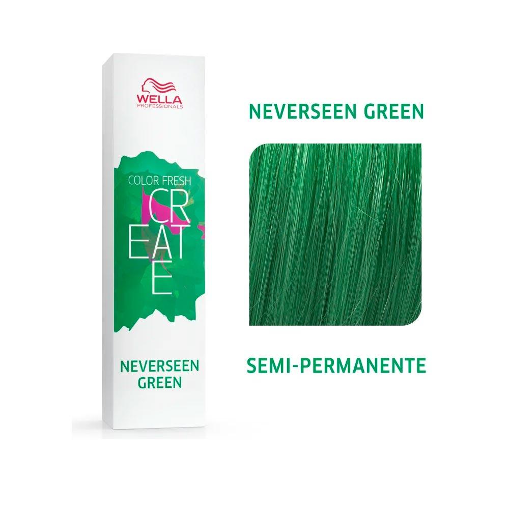 Coloração Wella Color Fresh Creator - Neverseen Green 60g