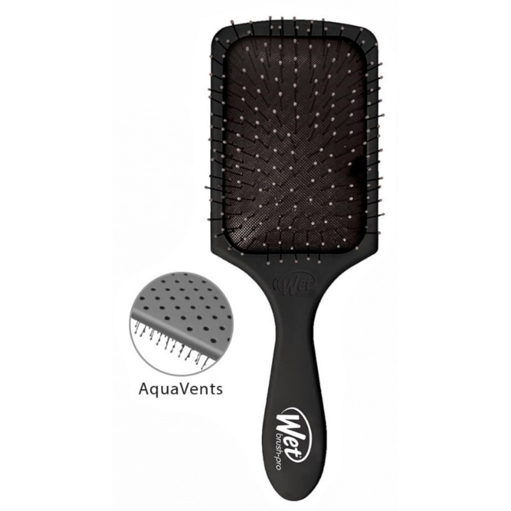 Escova de cabelo Wet Brush Pro - Quadrada Preta