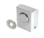 Batedor Prendedor de porta com imã Inox