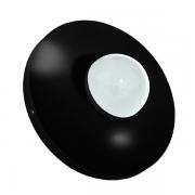 Luminaria Led Pratika 9 W 6500K 127 V - Preta