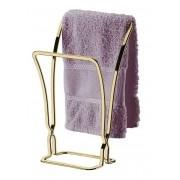Porta Toalha de Bancada Dourado