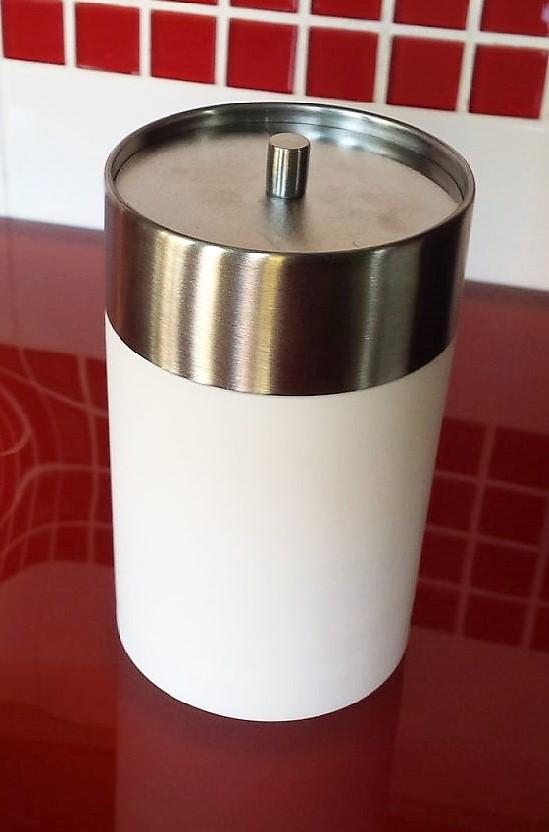 Acessórios para Banheiro 3 peças Astra Branco com Aço Escovado