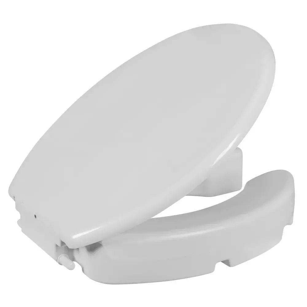 Assento Elevado Oval Astra com 7,50cm Branco TAE7/T