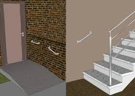 Barra de Apoio para Banheiro e Acessibilidade PVC até 150KG Astra 30cm