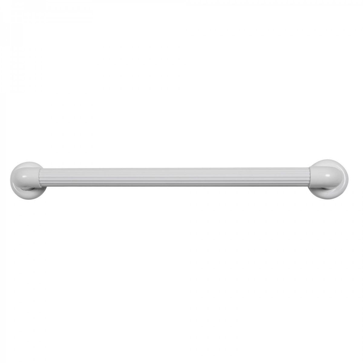 Barra de Apoio para Banheiro e Acessibilidade PVC até 150KG Astra 50cm