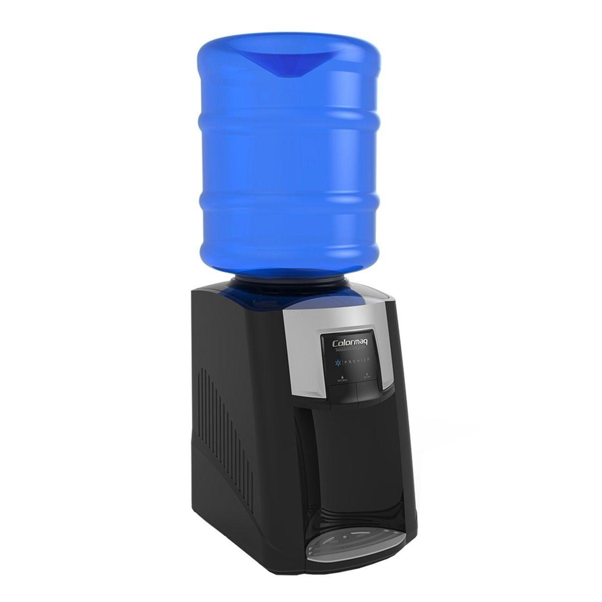 Bebedouro de Água Refrigerado Premium Colormaq 220V + Jarra Preto
