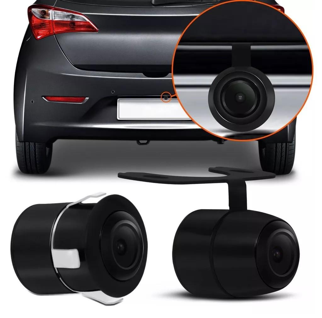 Camera De Ré Automotiva Multilaser Preta - Au012