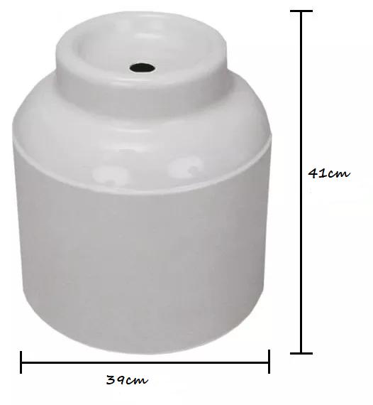 Capa para Botijão de Gas 13 Kgs Astra Branca Reforçada