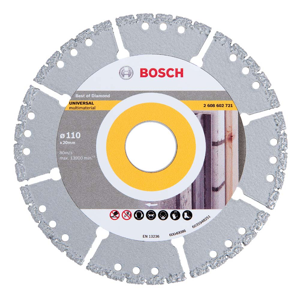 Disco de Corte 4 1/2(110mm) Multimaterial Bosch