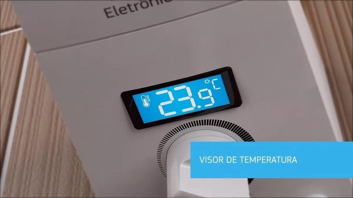 Ducha Eletrônica Digital Polo Hydrid Branco 7700W - 220V
