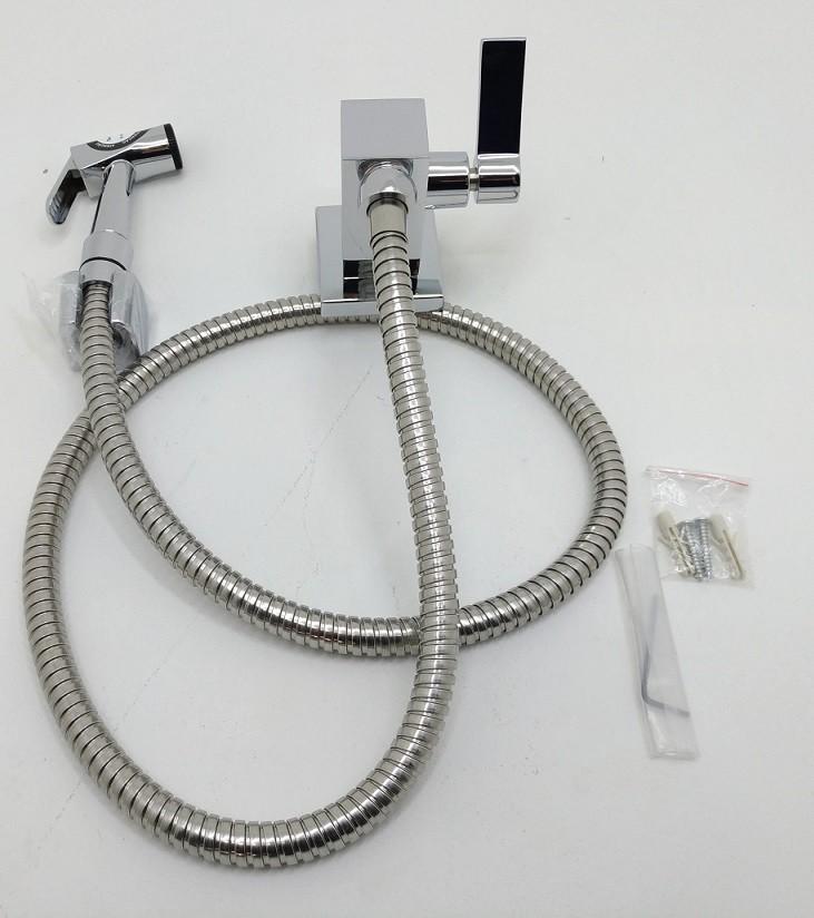 Ducha Higiênica Quadra com Gatilho Metal - 1/2 ou ¾