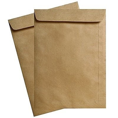 Envelope Pequeno Saco Kraft Natural Pardo 110 X 170 SCRITY 250 C/ Un