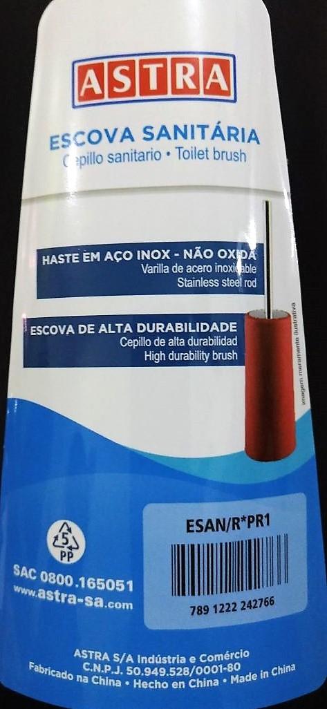 Escova Vassourinha Sanitária - Astra - Cores