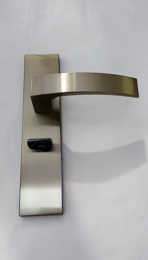 Fechadura Banheiro WC com Espelho Quadratta BL Aliança