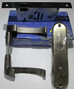Fechadura Haga Factal WC Banheiro 40mm -  Antique FLO