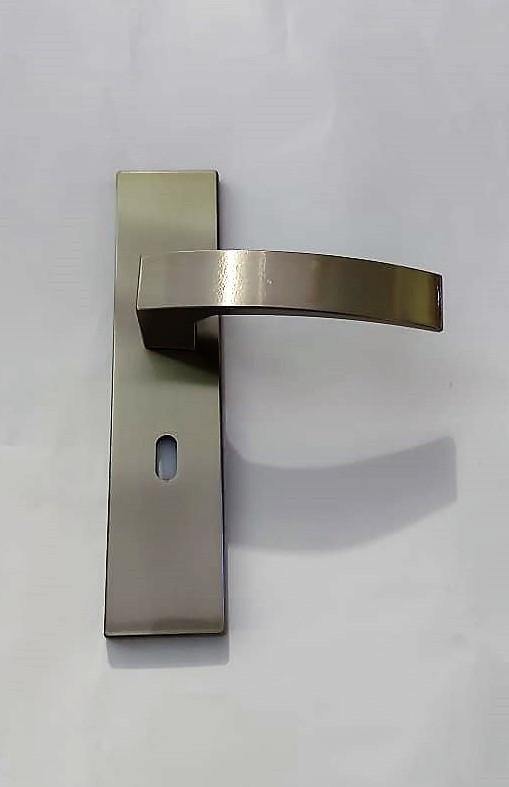 Fechadura p/ Quarto com Espelho Quadratta BL Aliança