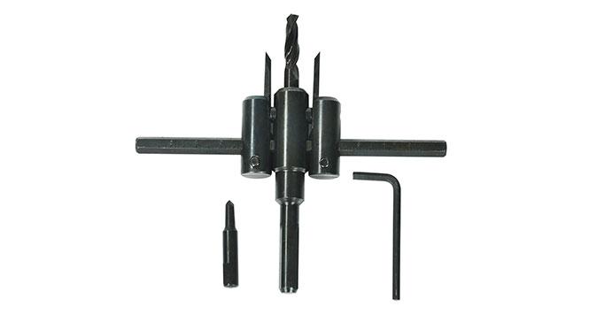Furador Ajustável Bailarina de 30mm à 200mm