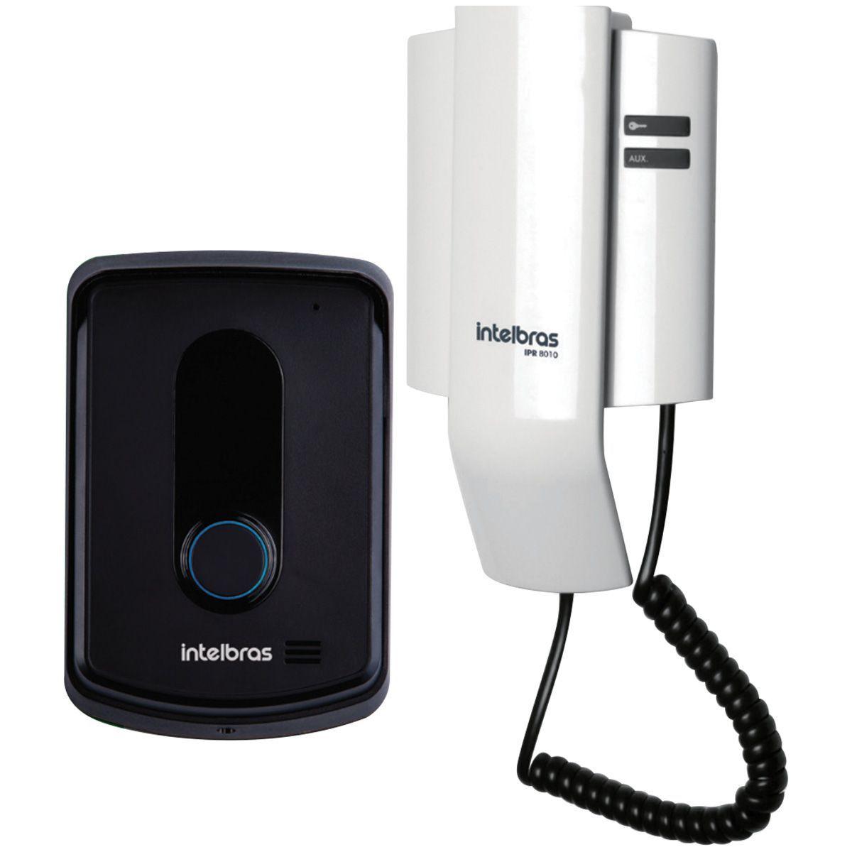 Interfone Residencial Porteiro Eletrônico Ipr 8010 Intelbras