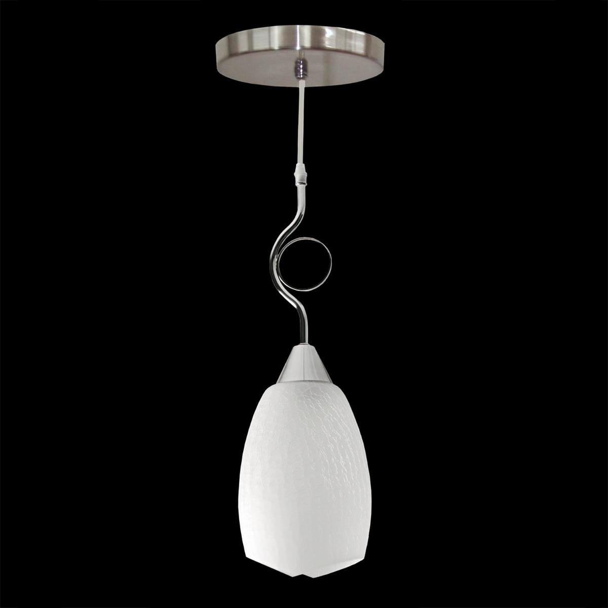 Lustre Pendente Design TD 2002 Branco Taschibra
