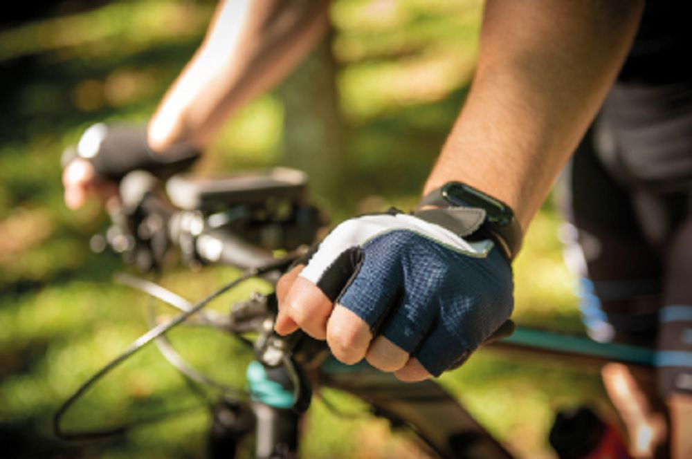 Luva para Ciclismo Tramontina Tricolor
