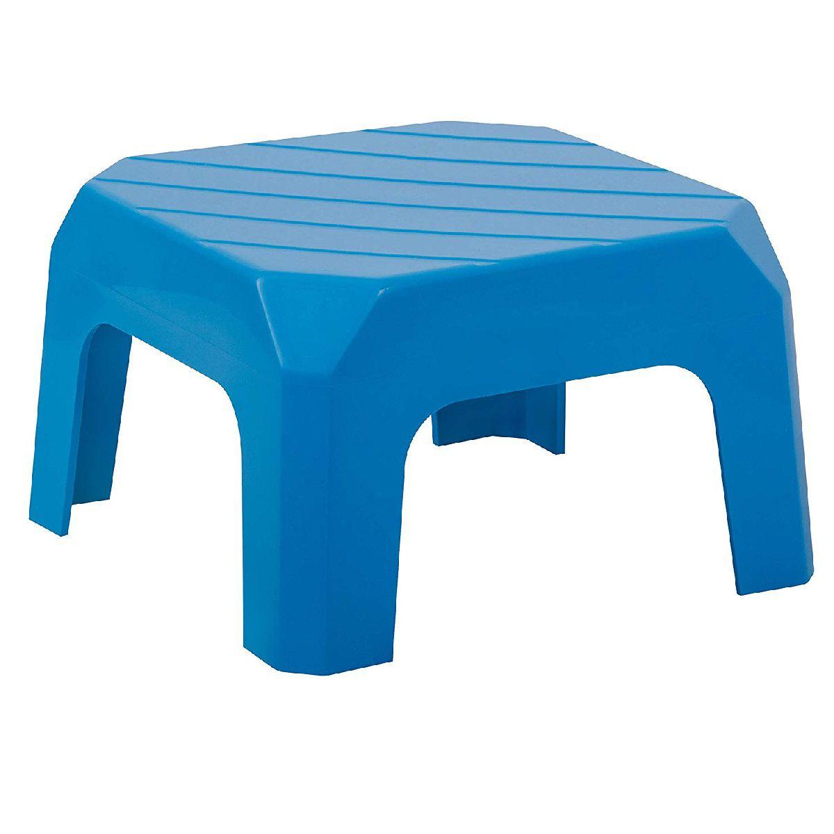 Mini Banqueta Plástica 20cm Azul Astra Bf2/r*bbr