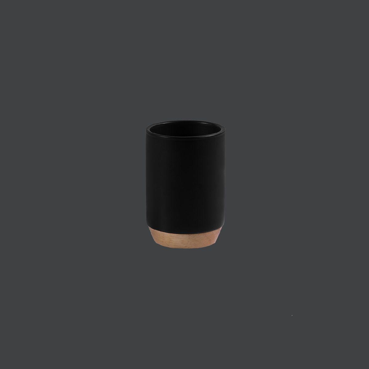 Porta Objetos de Cerâmica e Madeira - KBCM/PO