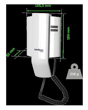 Porteiro Eletrônico Residencial IPR8010 Intelbras