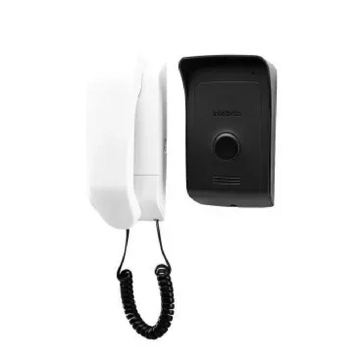 Porteiro Interfone Eletrônico IPR 1010 Residencial Intelbras Controle de Acesso a Distância