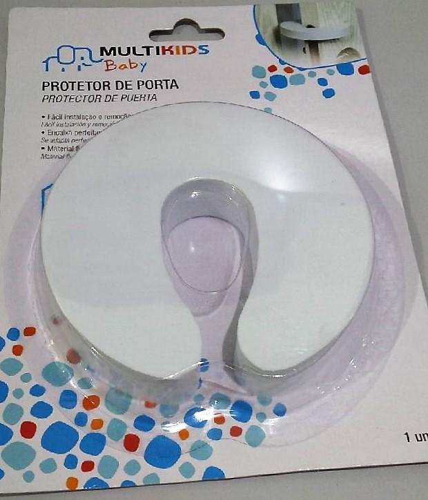 Protetor de porta salva dedos segurança para crianças em EVA Multikidis