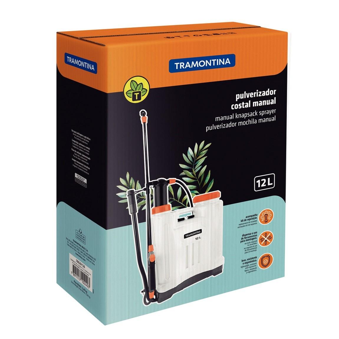 Pulverizador Costal Manual 12 Litros - Tramontina