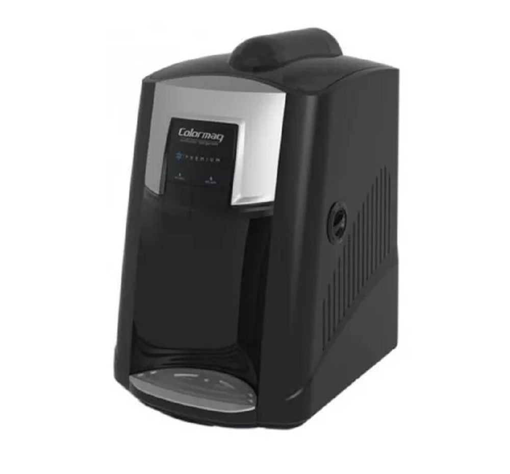 Purificador de Água Refrigerado Colormaq 220V Preto + Jarra 2L Preto