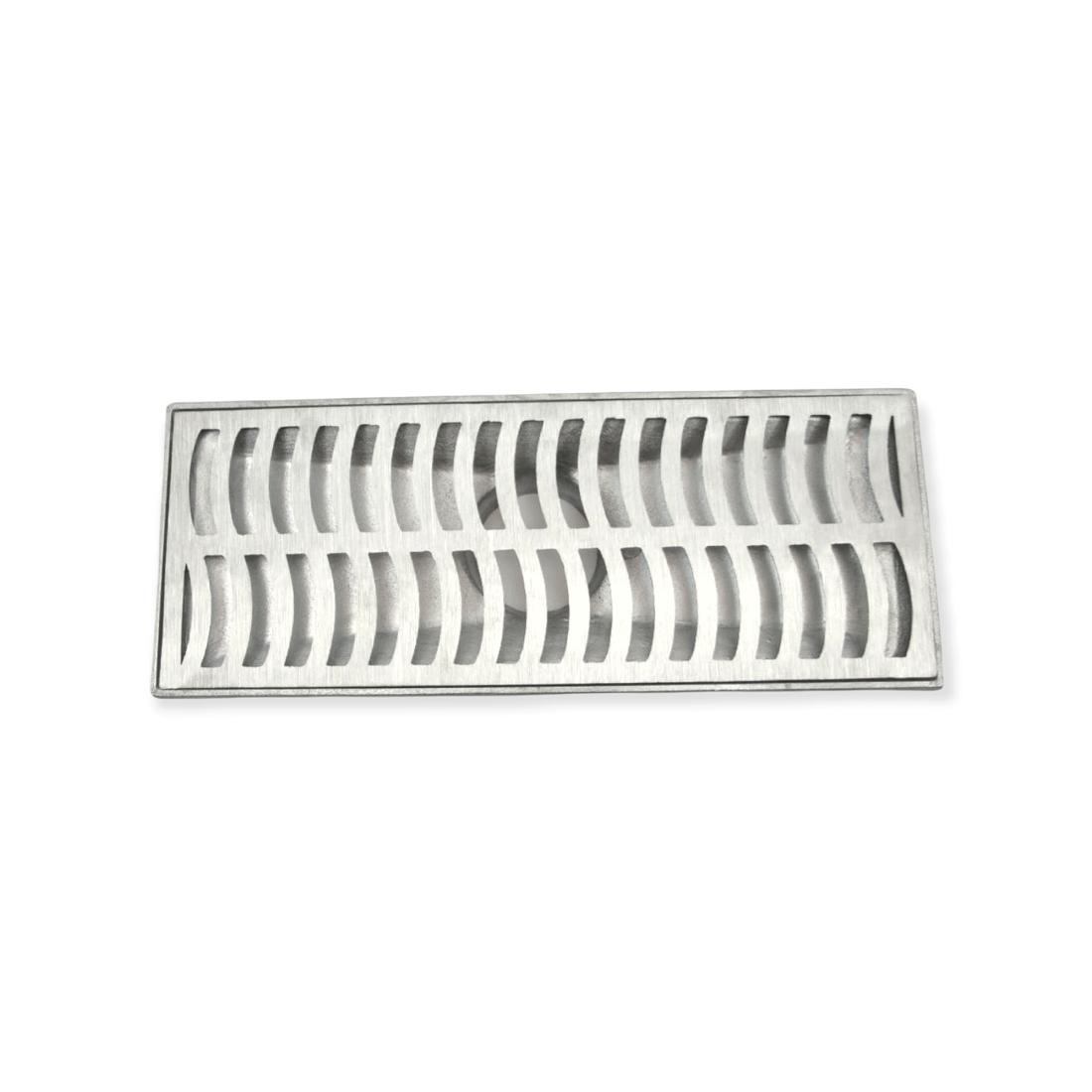 Ralo Linear com Coletor em Alumínio Fundido 20 x 50 *Exclusivo*