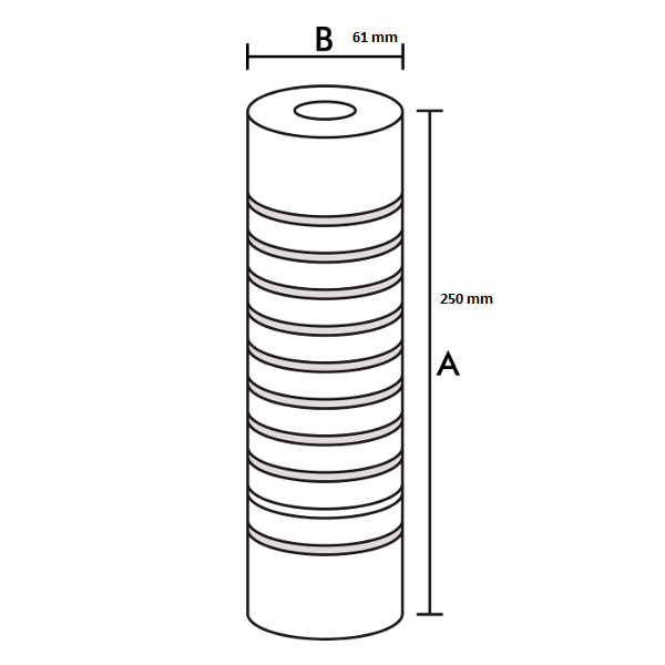 Refil Filtro Caixa D'Água Original FortLev 1200L/h