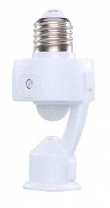 Sensor Presença Com Fotocélula P/ Lâmpada Soquete E27 Mpq-40f Margirius