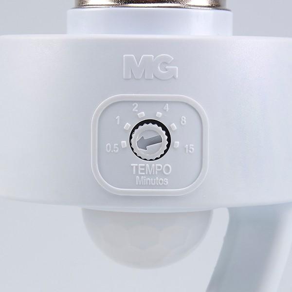 Sensor Presença Com Fotocélula Para Lâmpada Soquete E27 Mpq-40f Margirius