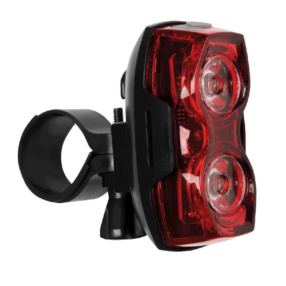 Sinalizador Traseiro de LED para Bicicleta Tramontina