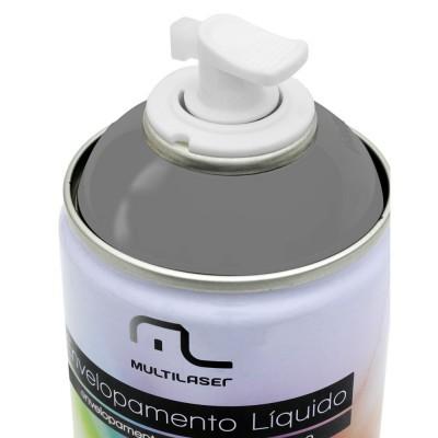 Spray Envelopamento Liquido Prata 400ml - Multilaser