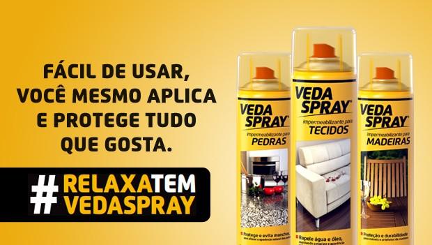 Spray Impermeabilizante Incolor para Madeiras VedaSpray