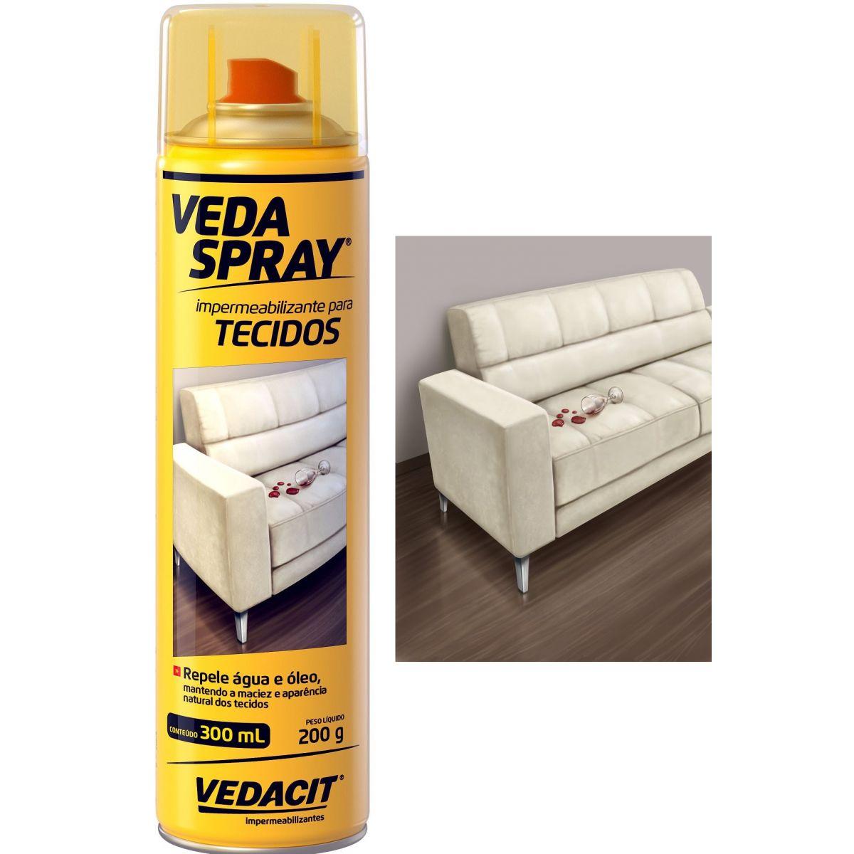 Spray Impermeabilizante Incolor para Tecidos VedaSpray