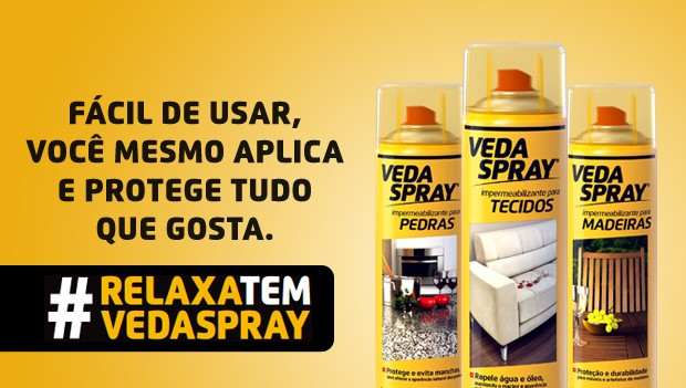 Spray Impermeabilizante Incolor para Tecidos VedaSpray