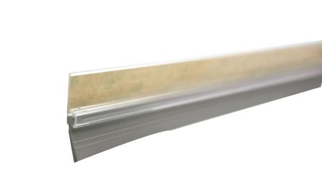 Veda Porta PVC Transparente 100 CM Rodo STAMACO