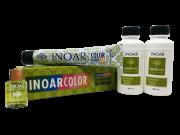 Inoar Kit Color System 7.44 - 2 Coloracoes  2 Ox  Oleo de Argan Gratis