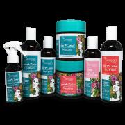 Kit Yenzah Sou + Cachos - Shampoo, Condicionador, Água Termal, Máscara, Gelatina e 2 Leave-In
