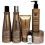 Kit CKamura Therapy Safe Repair - Shampoo, Condicionador, Leave-In, Mascara, Repositor de Massa  Superdose Gratis