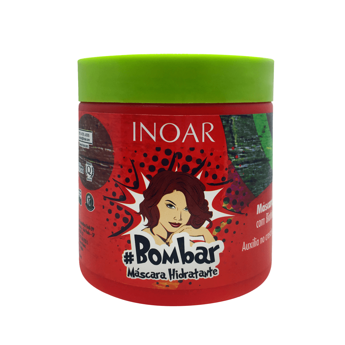 Inoar Mascara Hidratante Bombar - 500g
