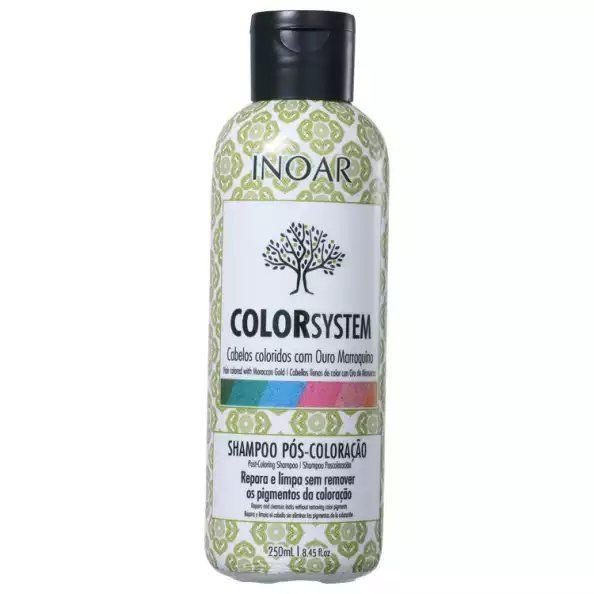 Inoar Shampoo Pós Coloração Color System - 250ml