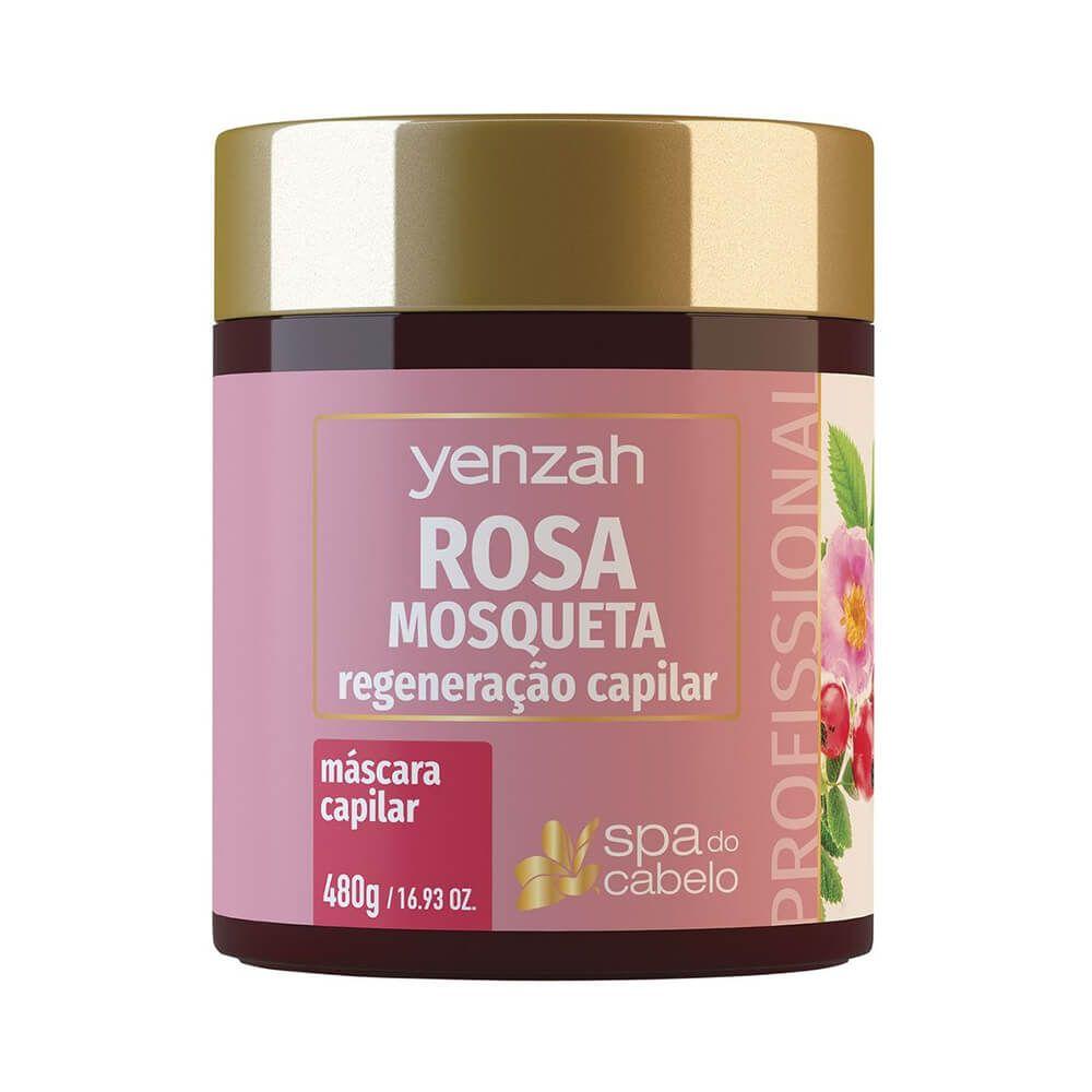 Yenzah Mascara SPA do Cabelo Rosa Mosqueta - 480g