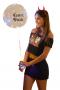 Balão Bubble Led Personalizado para Despedida de Solteira